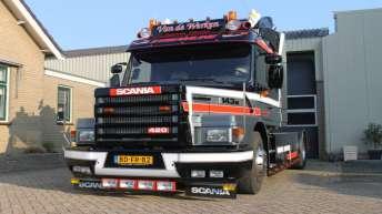 Tweedehands Scania 143 420 voor Van de Werken