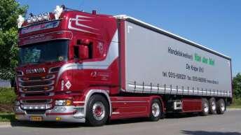 Scania R500 voor Van der Mei