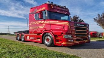 Scania S650T voor Valem Transport (DK)