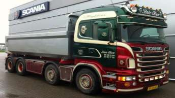 Scania R500 voor Brdr. Olsens Vognmandsforretning (D)