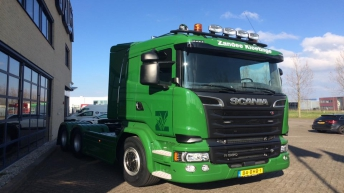 Scania R580 voor Zandee Kloetinge