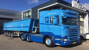 Scania R580 voor Sonnie Pedersen (DK)