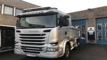 Scania R520 dumper voor gemeente Rælingen (NO)