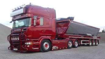 Scania R730 voor Myren Transport A/s (DK)