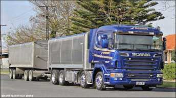 Scania R730 voor Alderson uit Nieuw Zeeland