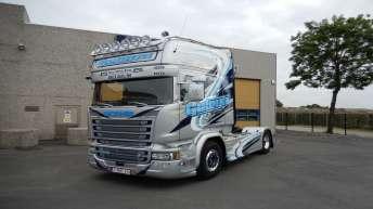 Scania R730 voor Geleyn (B)