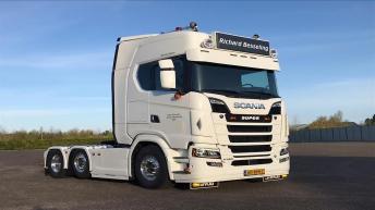 Nieuwe Scania S580 voor Richard Besseling uit Hem