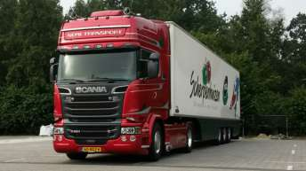 Scania R580 voor Nomi Transport