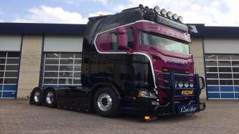 Scania S650 voor Kraemer Transport VOF