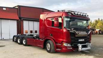 Scania S650 voor Pojrus Trucking (ZW)