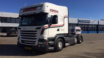 Scania R580 voor Corne Timmer Transport