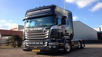 Scania V8 R520 - Lambert Hendriks Transport
