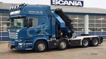 Scania R580 voor CSK (DK)