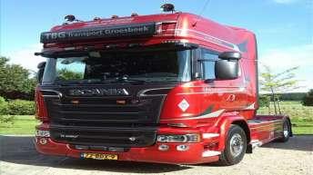 Scania R580 voor TBG Transport Groesbeek