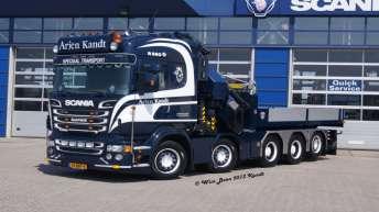 Scania R560 voor Arjen Kandt Speciaal Transport