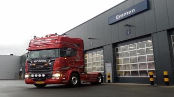Scania R580 voor Harry Nutterts