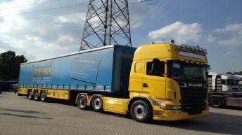 Scania R500's voor Wierks uit Dordrecht