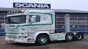 Scania R580 voor TJ Transport (DK)
