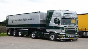 Scania R730 voor Van Triest Veevoeders