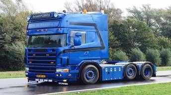 Scania 164 480 voor Gebr. de Waard & Pa