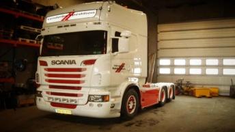 Scania R620 voor Vendelbo Spedition (DK)