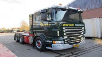 Scania R500 voor Goudriaan Transport