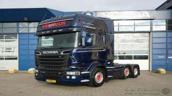 Scania R580 voor Wil Vermulm