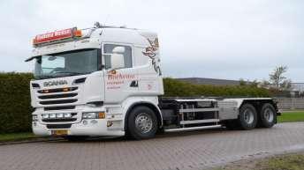 Scania R500 voor Boekema Transport