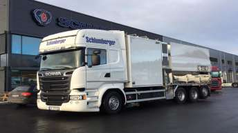 Scania R520 voor Schlumberger (NO)