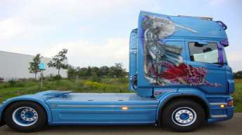 Scania R730 voor Heros Transport