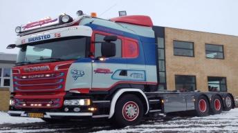 Scania R580 voor SB Transport (DK)