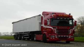 Scania R500 voor M.P. Edes