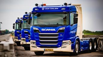 Scania R520 voor Van Dalen
