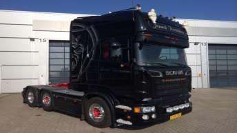 Scania R560 voor Jannich Kristiansen (DK)