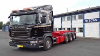 Scania R520 voor Kong Transport (DK)