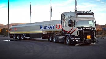 Scania V8 R730 voor Blista Transport AS. (Noorwegen)