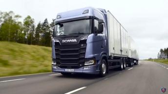 Eerste foto's nieuwe Scania