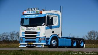 Scania R650 voor P.B. Kok