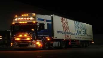 Vier gebruikte R500 trekkers voor Kempen Transport