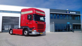 Scania R520 voor Peter Appel Transport