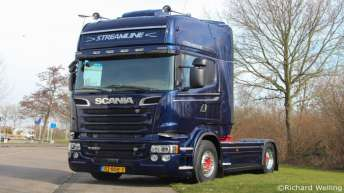 Scania R520 voor Welling Transport