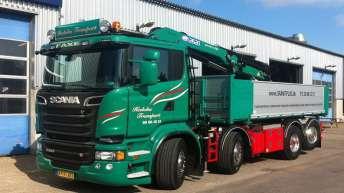 Scania R520 voor Hedoha Transport (DK)