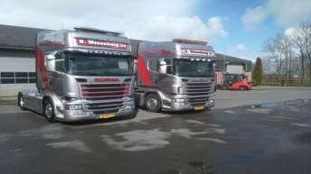 Scania R730 voor B. Wezenberg bv