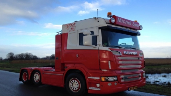 Tweedehands Scania R560 voor Michel Spa