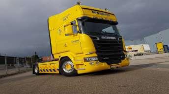 Scania R520 voor Hoogwout Berging