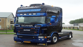 Scania R500 voor Jeffrey Hart