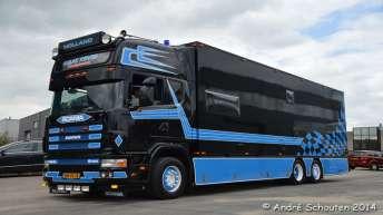 Gebruikte Scania 164 580 voor Sjaak Kentie