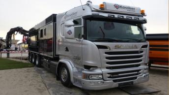 Scania R580 voor Kooiker Zuigtechniek
