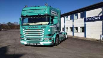 Scania R520 voor Jakob Pedersen