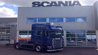 Gebruikte Scania R730 voor Geelhoed